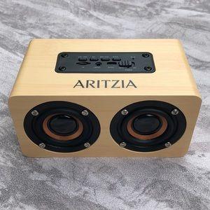 Aritzia Wireless Wooden Bluetooth Speaker NWT